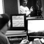The phillies' carlos ruiz recording voiceover at audiomaxx studios, cherry hill, nj www.audiomaxxstudios.com