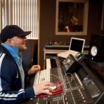 producer mr. mig in the studio with female vocalist www.audiomaxxstudios.com