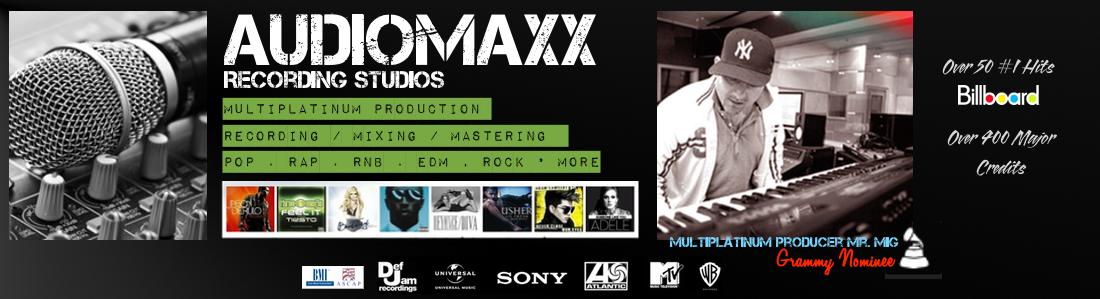 audiomax studios banner new 2015 www.audiomaxxstudios.com
